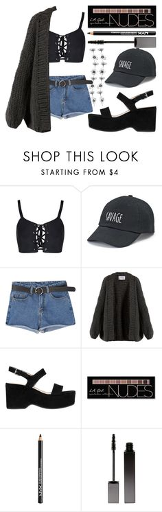 """when you treat me like that"" by nikki5673 ❤ liked on Polyvore featuring SO, I Love Mr. Mittens, Marc Jacobs, Charlotte Russe, NYX and Serge Lutens"