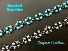 Beads, Safety Pin and Beads Necklace, Best Out of Waste Ideas, Diwali Special, Safety Pin and Beads Beaded Bracelets Tutorial, Diy Bracelets Easy, Beaded Bracelet Patterns, Dainty Bracelets, Dainty Jewelry, Silver Bracelets, Handmade Bracelets, Beaded Necklaces, Colorful Bracelets