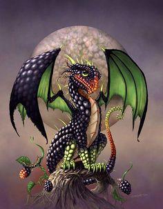 Blackberry Dragon  Stanley Morrison
