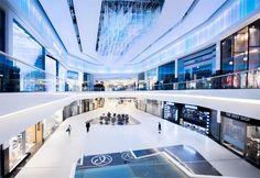 POSNANIA RETAIL CENTRE Opera House, Centre, Commercial, Retail, Architecture, Building, Design, Arquitetura, Buildings