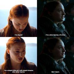 Sansa Stark 3x07 - 7x07
