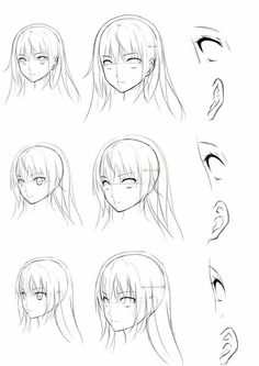 16 Ideas for drawing reference eyes angles Manga Drawing Tutorials, Manga Tutorial, Drawing Techniques, Art Tutorials, Drawing Skills, Drawing Poses, Drawing Tips, Drawing Sketches, Drawings