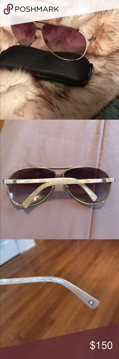 Dior sunglasses authentic I have scratches on a Lenses the rest is in a good condition Christian Dior Accessories Sunglasses