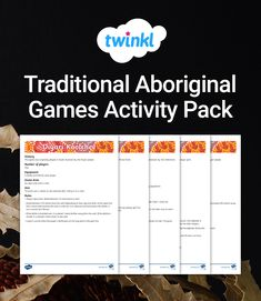Use this collection of games with your students to introduce them to traditional Aboriginal games. Aboriginal Symbols, Activity Games, Activities, Naidoc Week, Students, Traditional, Teaching, Collection, Learning
