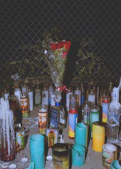 Documenting Oakland's Murder Shrines   Photos by Brandon Tauszik #photography #film