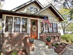 bungalow restoration as seen on Rehab Addict with Nicole Curtis Attic Remodel, Old Houses, Renovations, Craftsman Bungalows, Bungalow Style, Craftsman House, House, Bungalow, Bungalow Exterior