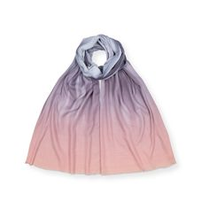 Buy the Grey & Pink Ombre Scarf at Oliver Bonas.