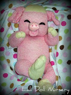 PDF modèle chaussette cochon
