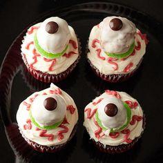 Halloween Cupcake Ideas.