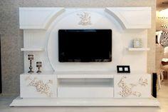 Living Room Tv Unit Designs, Wall Unit Designs, Tv Unit Decor, Tv Wall Decor, Lcd Wall Design, Tv Unit Furniture Design, Modern Tv Wall Units, Tv Cabinet Design, Bedroom False Ceiling Design