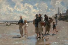 John Singer Sargent - Fishing for Oysters at Cancale - Google Art Project - John…