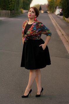 08.10.13 - wearing: Y-two jacket, Zara dress, LaStrada pumps and ASOS earrings