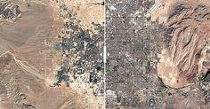 Durante los últimos treinta años, el mundo ha sufrido una transformación radical. Y las ciudades se han hecho más y más grandes. Así eran antes y así son hoy