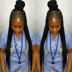 87 Cornrow Hairstyles for Black Women Ideas in Next time you're stuck trying to think up new ideas for your natural hair, try one of these stunning looks. Whether you have short hair, long braids, ., Cornrow Hairstyles for Black Women Black Girl Braids, Braids For Black Hair, Girls Braids, African Braids Hairstyles, Protective Hairstyles, Protective Styles, Ethnic Hairstyles, Fulani Braids, Ghana Braids