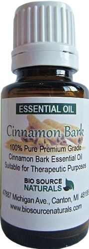 Cinnamon Bark essential oil shown to be effective in lowering blood sugar levels.
