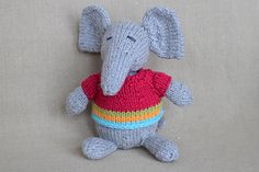 wee ones seamless knit toys by Susan B. Anderson