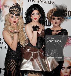 News Photo : Courtney Act Bianca Del Rio and Adore Delano...