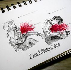 enjolras and grantaire's death