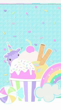 Www Free Android Live Wallpaper Com www Unicornios Wallpaper, Pastel Wallpaper, Wallpaper Backgrounds, Unicorn And Glitter, Unicorn Art, Rainbow Background, Snacks Für Party, Cute Backgrounds, Live Wallpapers