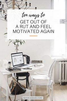 How to feel motivated again | Motivation tips | Inspiration | Productivity | Creativity | Career advice | Productivity Career Advice, Self Improvement, Mantra, Career Change, How To Change Careers, Self Development, Personal Development, Stuck In A Rut, Positive Changes