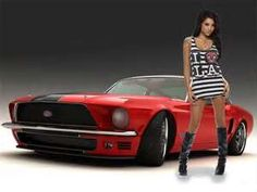 Free Download Hq Mustang Girls Amp Cars Wallpaper Num 122 1600 X 1200