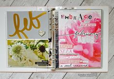Kendra's Paper Creations: {Embrace} One Little Word ~ February Prompt