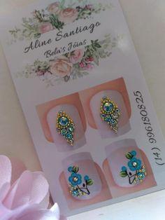 Nail Jewels, Rhinestone Nails, Gorgeous Nails, Swarovski, E Design, Perfume, Nail Art Designs, Pretty Nails, Jewelry Displays