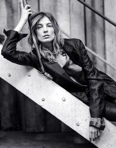 Daria Werbowy via fashionsquad,com