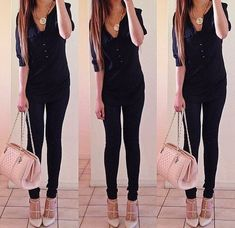 Idea for Christmas party attire Teen Fashion, Love Fashion, Winter Fashion, Fashion Outfits, Womens Fashion, Outfits For Teens, Fall Outfits, Casual Outfits, Cute Outfits