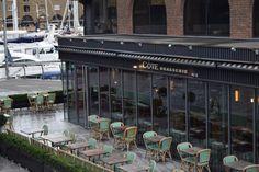 Cote Brasserie French Restaurant in St Katharine Docks, London