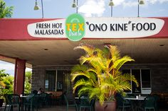 Tex's Drive In, Honoka'a, Hawai'i- Home of the malasada and 2 for 1 loco moco special!