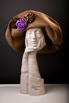 Collections - Je Ne Regrette Rien - Anya Caliendo - Couture Millinery Atelier