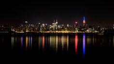 USA - New York - Night Skyline