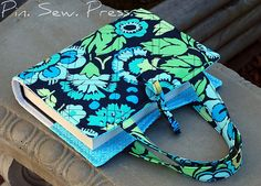 Quilted Bible Cover Made with Park City Girl's free tutorial here... http://parkcitygirl.blogspot.com/2009/05/tutorial-quilted-bible-cover_22.html