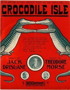 Crocodile isle (a0059) - Historic American Sheet Music - Duke Libraries