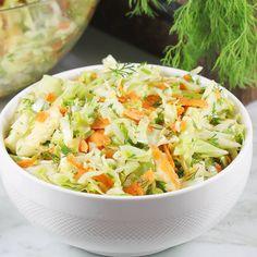 Polish Recipes, Polish Food, Gluten Free Recipes, Salad Recipes, Potato Salad, Cabbage, Food And Drink, Cooking Recipes, Lunch