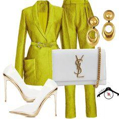 Aqua Dress Outfit, Orange Dress Outfits, Classy Outfits, Stylish Outfits, Fashion Outfits, Fashion Shirts, Dope Fashion, Fashion Looks, Womens Fashion