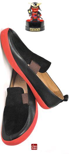 Sim, sim! Mocassim! - Masculino Modelo SIM - Men's sneakers - www.ciaomao.com