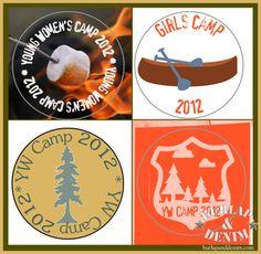 Girls Camp Bottle Caps