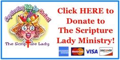 Donate Today to The Scripture Lady Ministry - The Scripture Lady