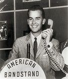 """American Bandstand 1952-1989 Brought rock 'n' roll music into millions of households & showed Americans how to do the latest dance steps.Dick Clark hosted the show.Regular segments were """"The Spotlight Dance,"""" """"Rate-A-Record"""" & The """"American Bandstand"""" Top 10 Countdown. """"The Spotlight Dance"""" featured 2 or more couples dancing to a softer tune.""""Rate-A-Record"""" had teenage contestants rate & comment on a record played.The """"American Bandstand Top Ten""""was a countdown of the Top 10 hits of the day."""