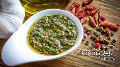 """Hoy receta de """"Chimichurri"""" la salsa del asado Argentino Muchos me han pedido esta simple pero exquisita receta Que la disfruten!! Paso a paso aquí: https://..."""