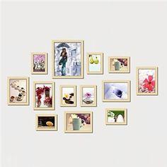 Photo Wall Frame Collection-Set of 13 FZ-013