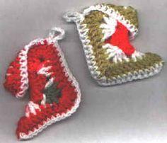 granny square crocheted stockings http://crochet4you1.tripod.com/free_christmas_crochet.htm