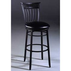 """Hillsdale Cottage 26"""" Swivel Counter Height Stool Finish: Rubbed Black"""
