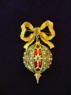 Christmas brooch.  $125.00