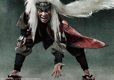 Naruto Live-Action Play Hits the Stage with The Live Spectacle  NARUTO (Jiraiya  Umegaki Yoshiaki)