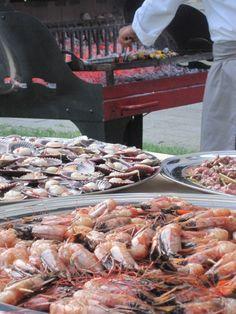 Una #grigliata a vista! #grill #fish #italian_food