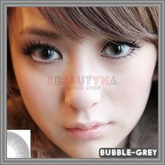 bubble-grey Grey Contacts, Colored Contacts, Circle Lenses, Bubbles, Tinted Contact Lenses, Circle Glasses, Color Lenses, Colored Eye Contacts, Color Contacts