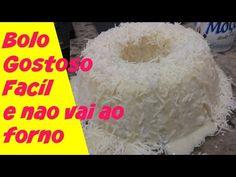BOLO DE TAPIOCA GOSTOSO E FACIL DE FAZER (NAO VAI AO FORNO) RECEITA COMPLETA - YouTube